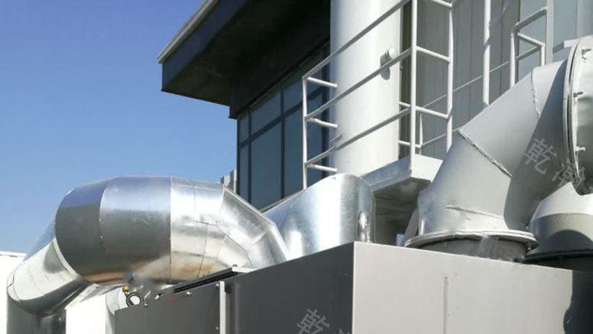上海某水电设备有限公司沸石转轮+CO40000m3/h