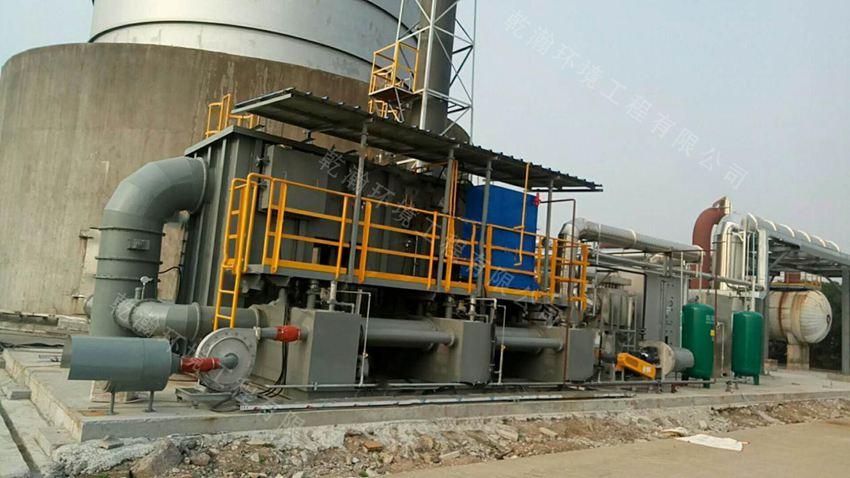 宁波某化学股份有限公司沸石转轮+RTO设备25000m3/h