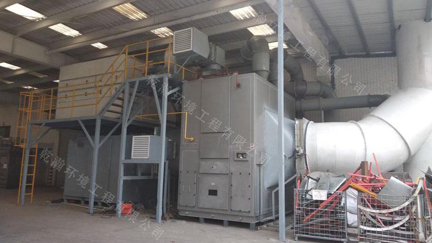 北京某制造有限公司沸石转轮+CO设备65000m3/h