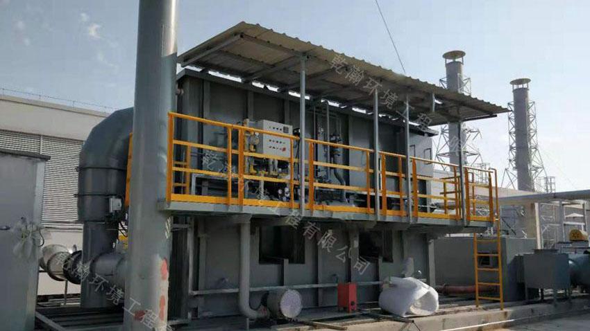 南昌某有限公司沸石转轮+RTO四套废气处理设备