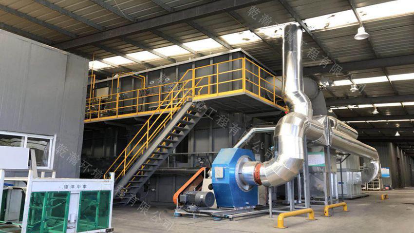 北京某汽车零部件有限公司沸石转轮+RTO废气处理设备180000m3/h