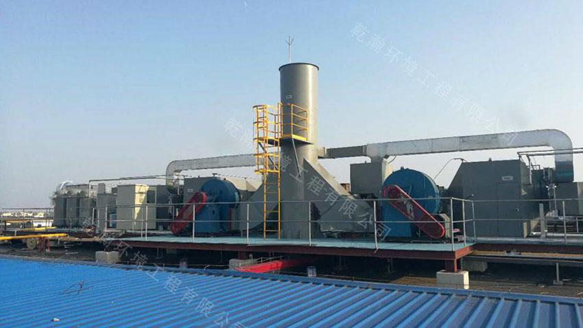 天津某乐器有限公司废气治理工程100000m3/h